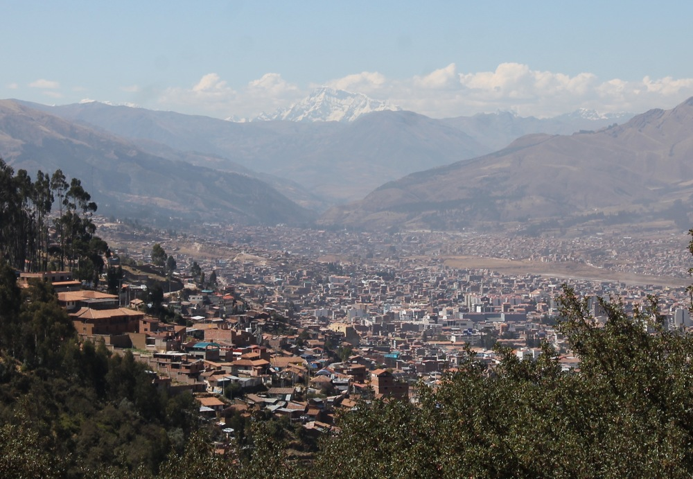 View over Cusco