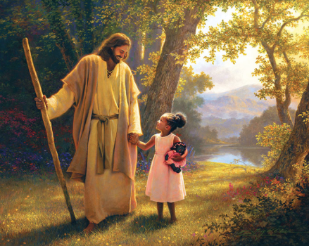 'Hand in Hand' by Greg Olsen