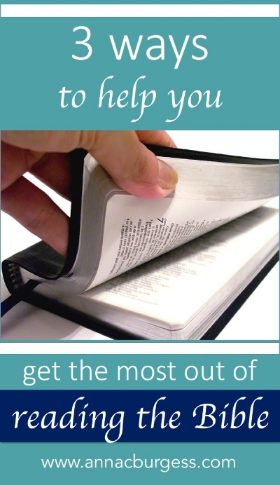 Want to be freshly inspired to read your Bible? Click the link to get 3 pointers to get you on your way! #biblestudy #biblehelps #biblereading
