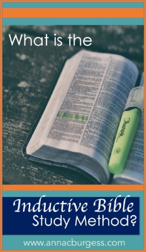 Want to study the Bible without a study guide? Want to dig deeper into the Word but don't know how? The Inductive Bible Study method is a great way to start! Click the link to read more!  #inductivebiblestudy   #biblestudy   #inductivemethod   #biblehighlighting