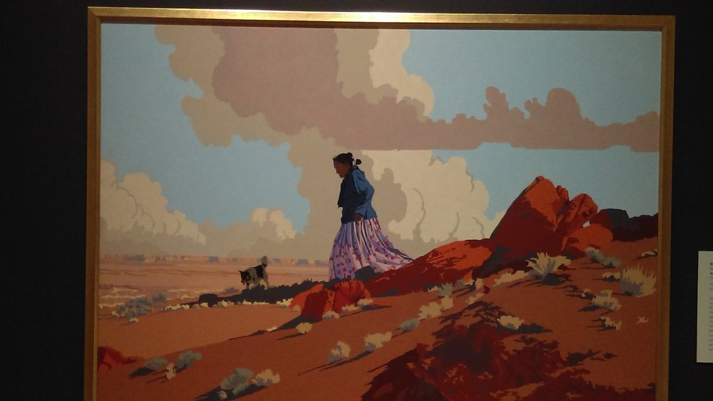 """An Ancient Place,"" by Bill Schenck (b. 1947) Tacoma Art Museum"