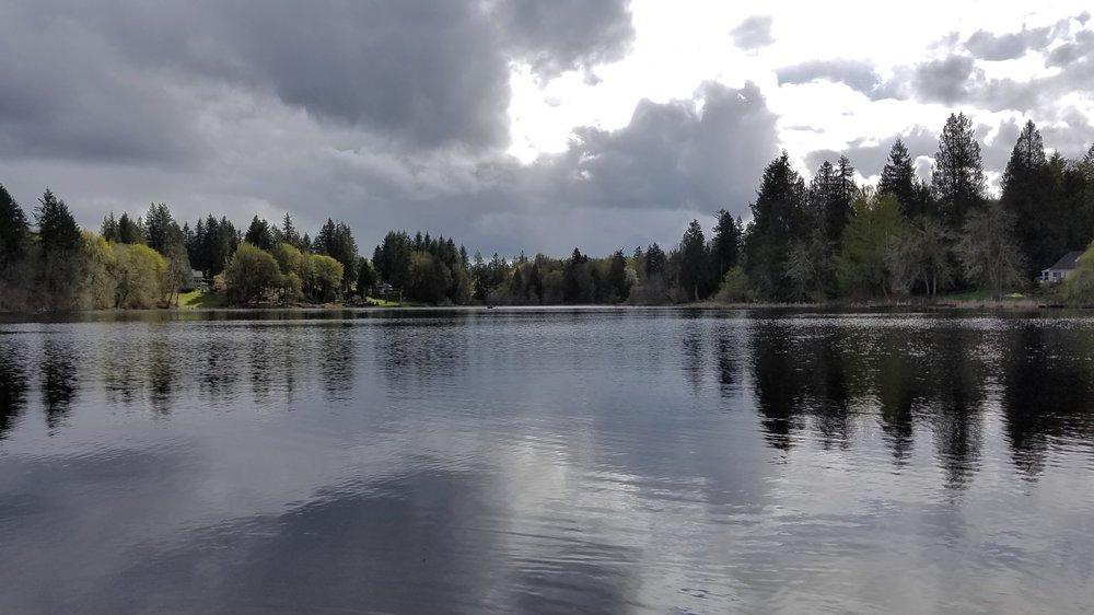 Munn Lake - April 12 Wild Swim