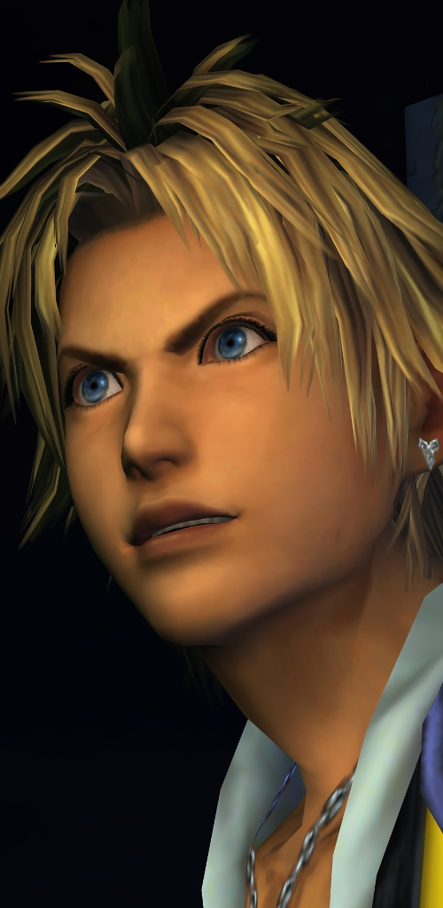 "Tidus. ""You mad, bro?""   Source"