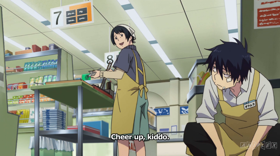 Rin Okumura at work.
