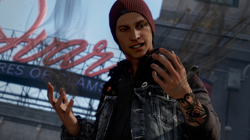 Meet Delsin Rowe, system seller.