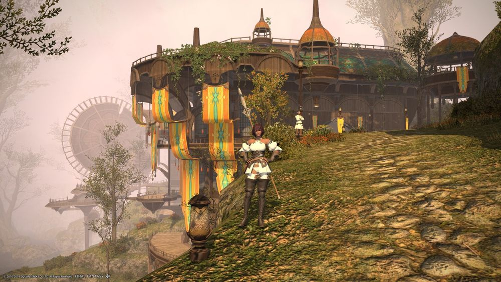 The Ammazon in Gridania.