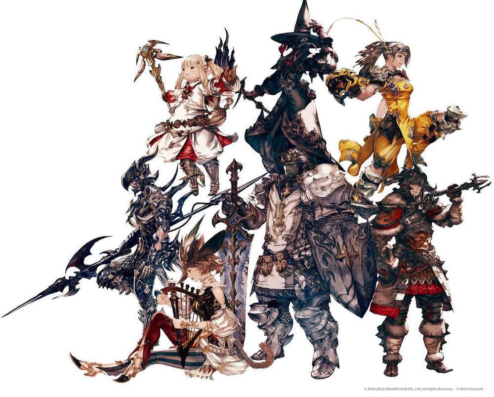 As per usual, the artwork of this latest iteration of  Final Fantasy  is nothing less than stunning