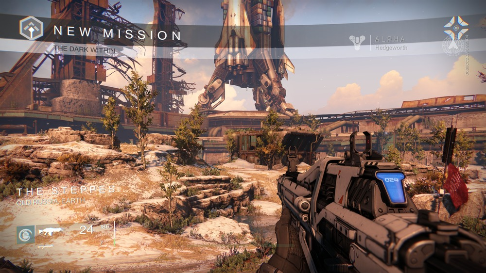 """The Dark Within"" - The Story mission in Destiny's First Look Alpha"