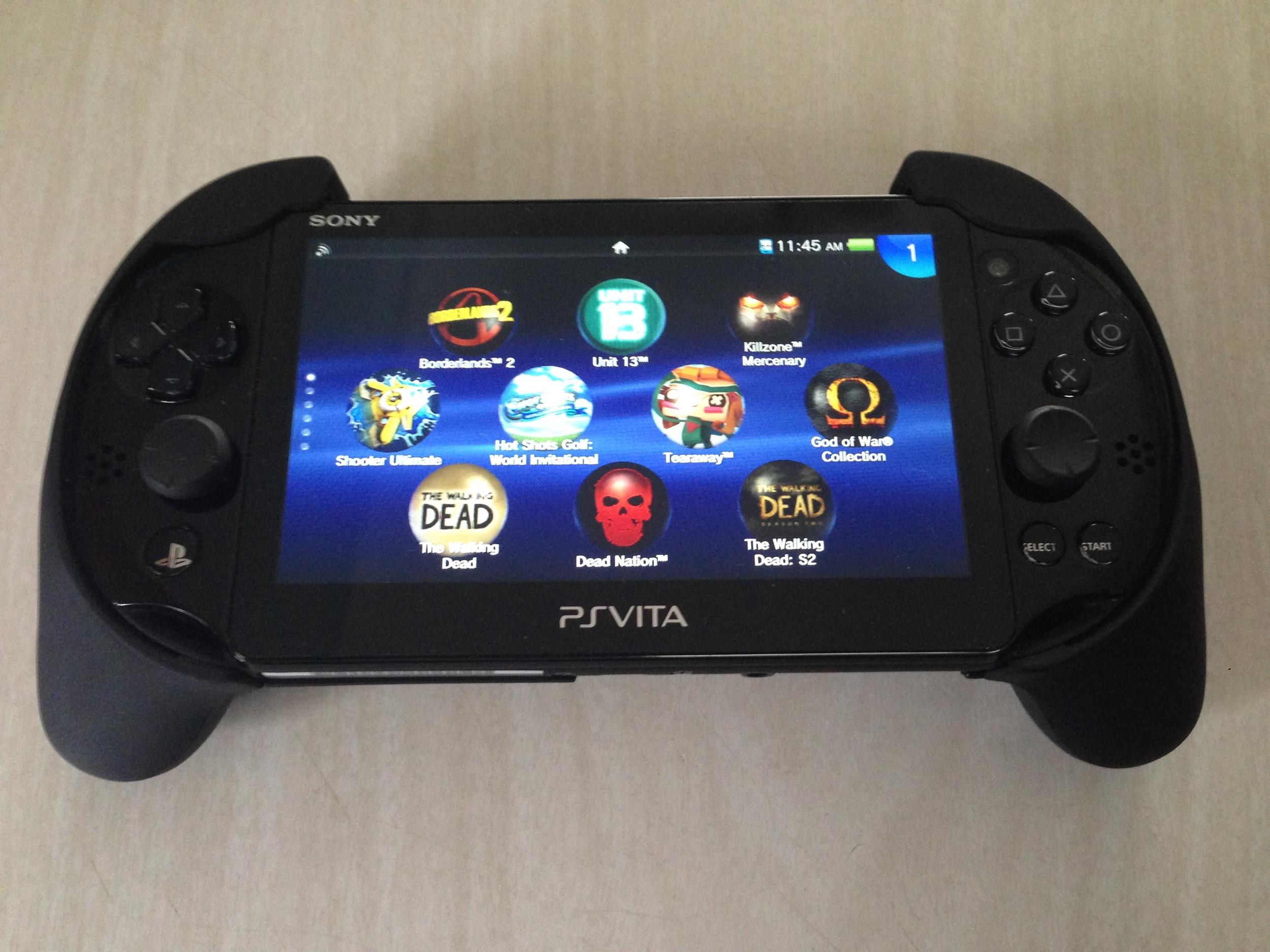 PlayStation Vita Slim Trigger Grip - A Short Pause Review