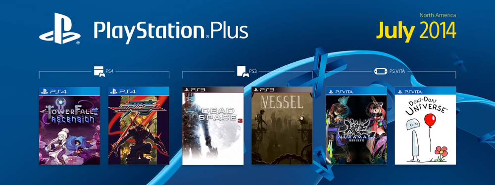 PlayStation Plus July 2014