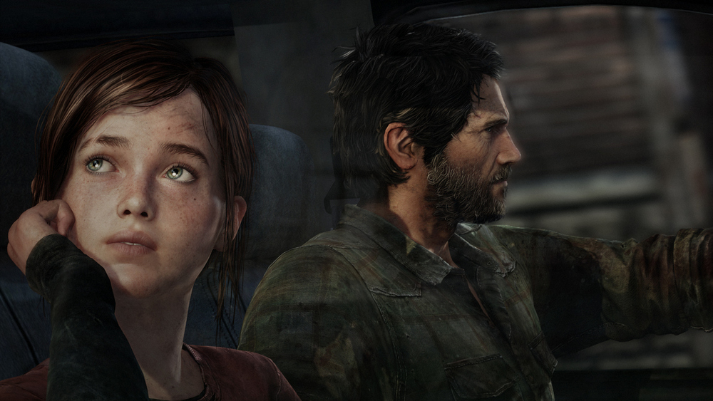 Joel and Ellie look even more stunning with the power of the PS4.