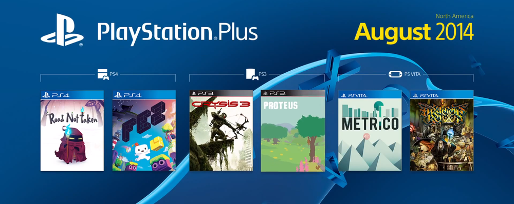 PlayStation Plus August 2014