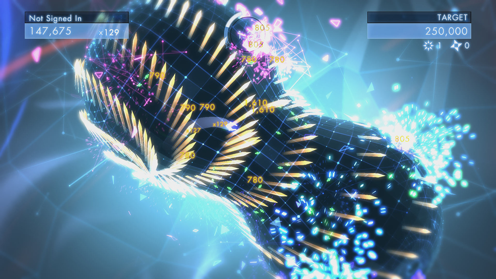 Geometry Wars 3 looks to add some elements of Resogun and Super Stardust HD to its twin-stick formula