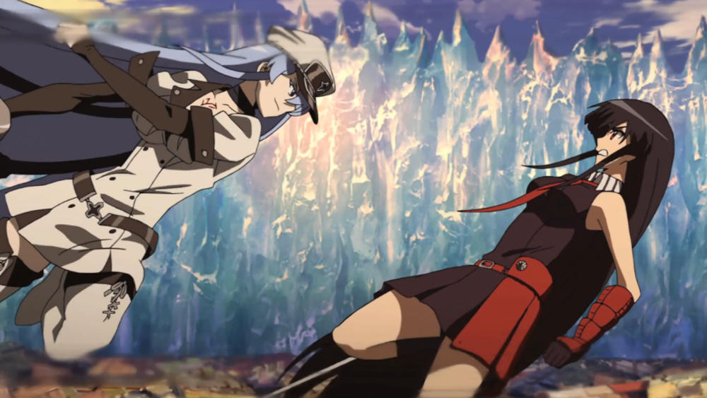 Esdeath vs Akame