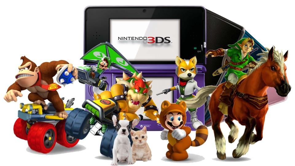 Resultado de imagem para NINTENDO 3DS GAMES