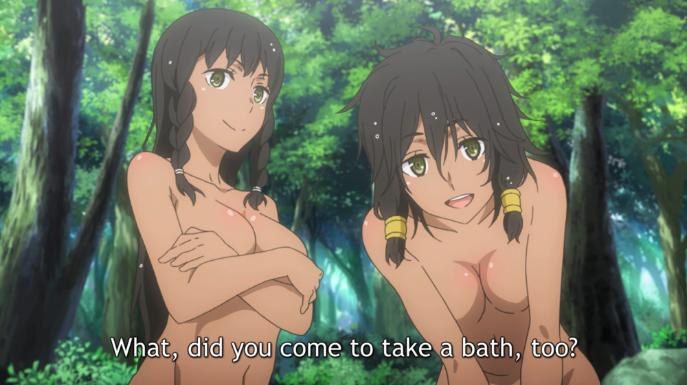 how it is wrong to try to pick up girls in a dungeon