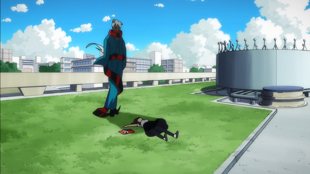 Hajime encounters JJ