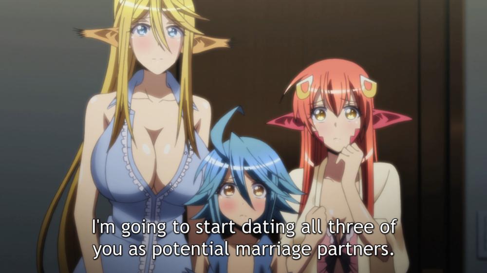 dating the monster girls