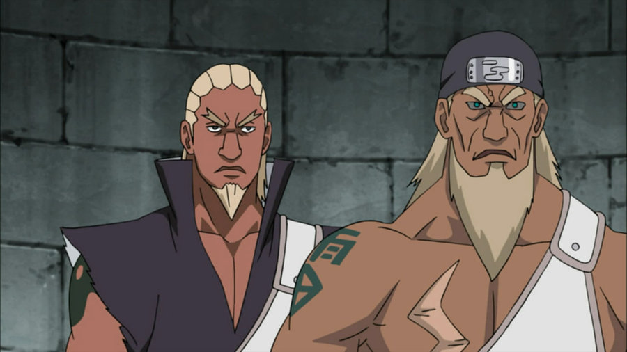 The 3rd and 4th Raikage