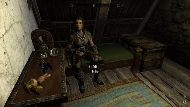 Go to sleep, Lydia!
