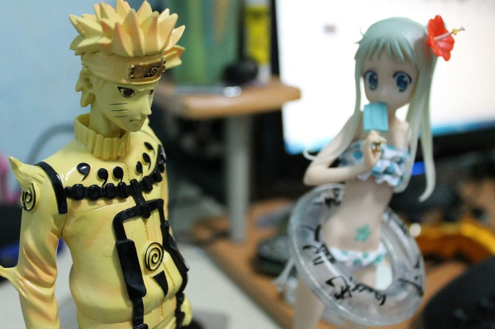 Naruto and Menma. Photo Source:  Agung Paramtapa