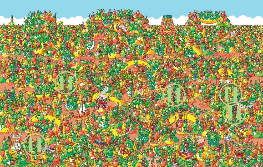 Where's Waldo -Bunol, Spain