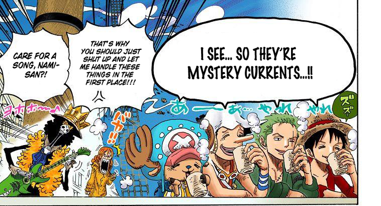 No one is as smart as Nami. ( One Piece , chapter 604)
