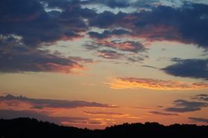 Sunset at Big Star Lake