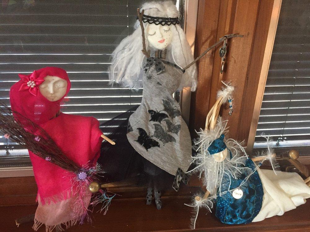 Some of Bobbie's original creations.