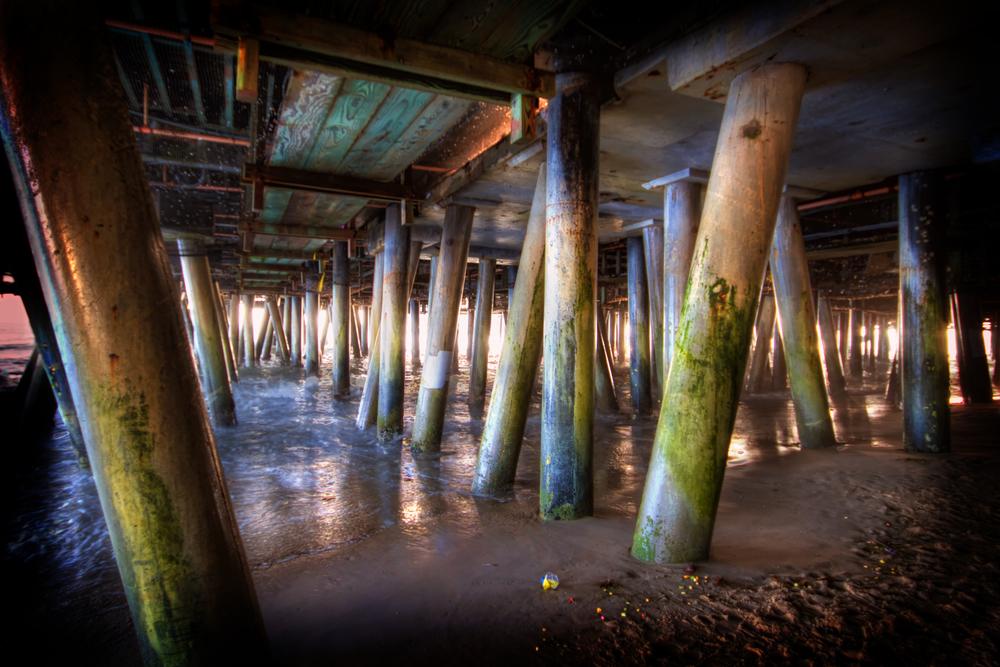 under the santa monica pier.jpg