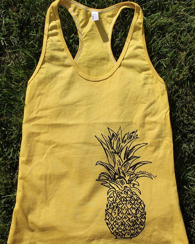Independent Pineapple • self-reliant and decisive, pineapples stand out in the crowd and are natural leaders •🍍