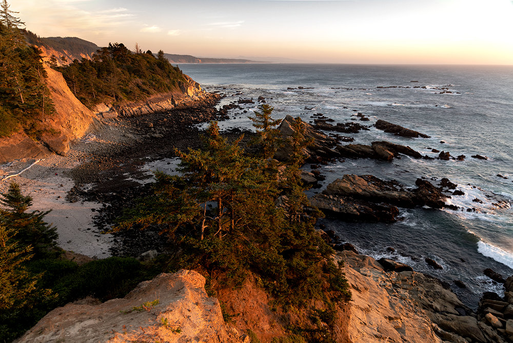 Twilight at Cape Arago State Parks