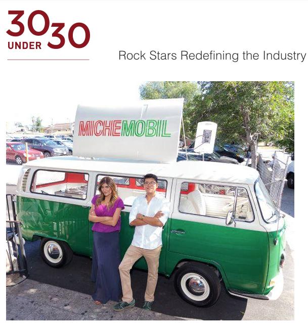 Zagat's 30 under 30 list