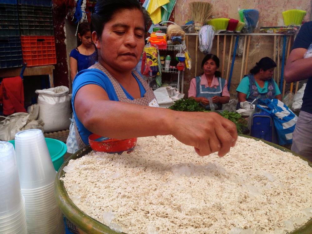 Tejate en el Mercado