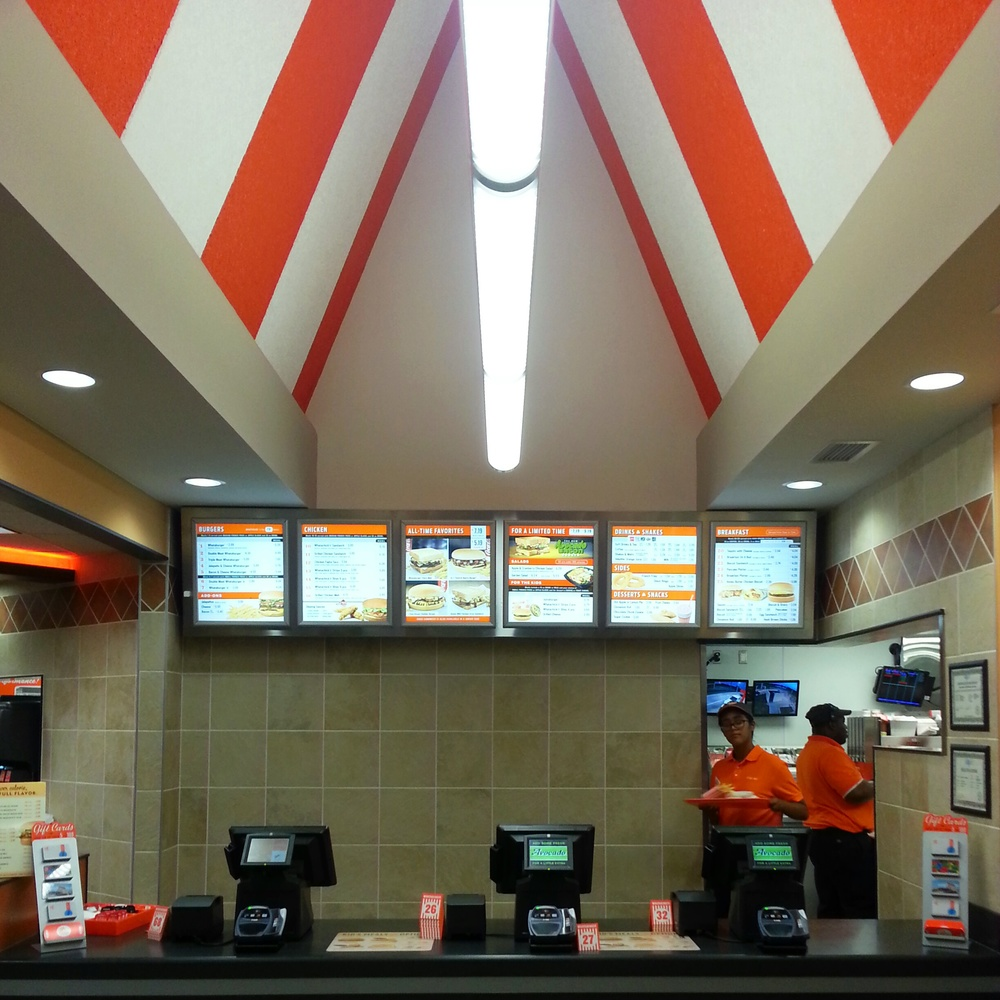 Entering Whataburger