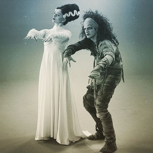 Pretty sure I actually was this woman in a past life. Can't wait to see it on the big screen at #tiff #onset #greenscreen #monster #brideoffrankenstein