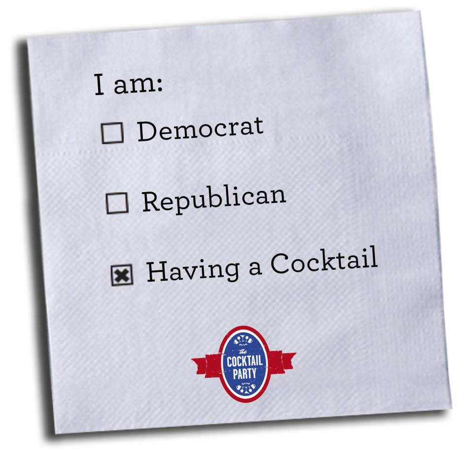 Cocktail Party Napkin
