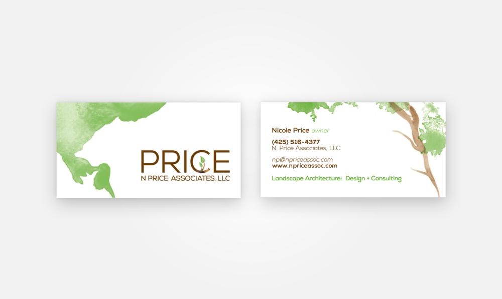 Price Business Card — Rita Gonsalves