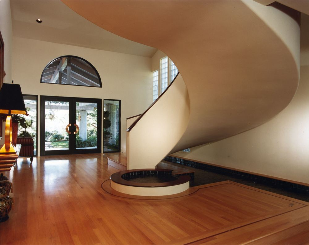 Entry Foyer and Grand Stair