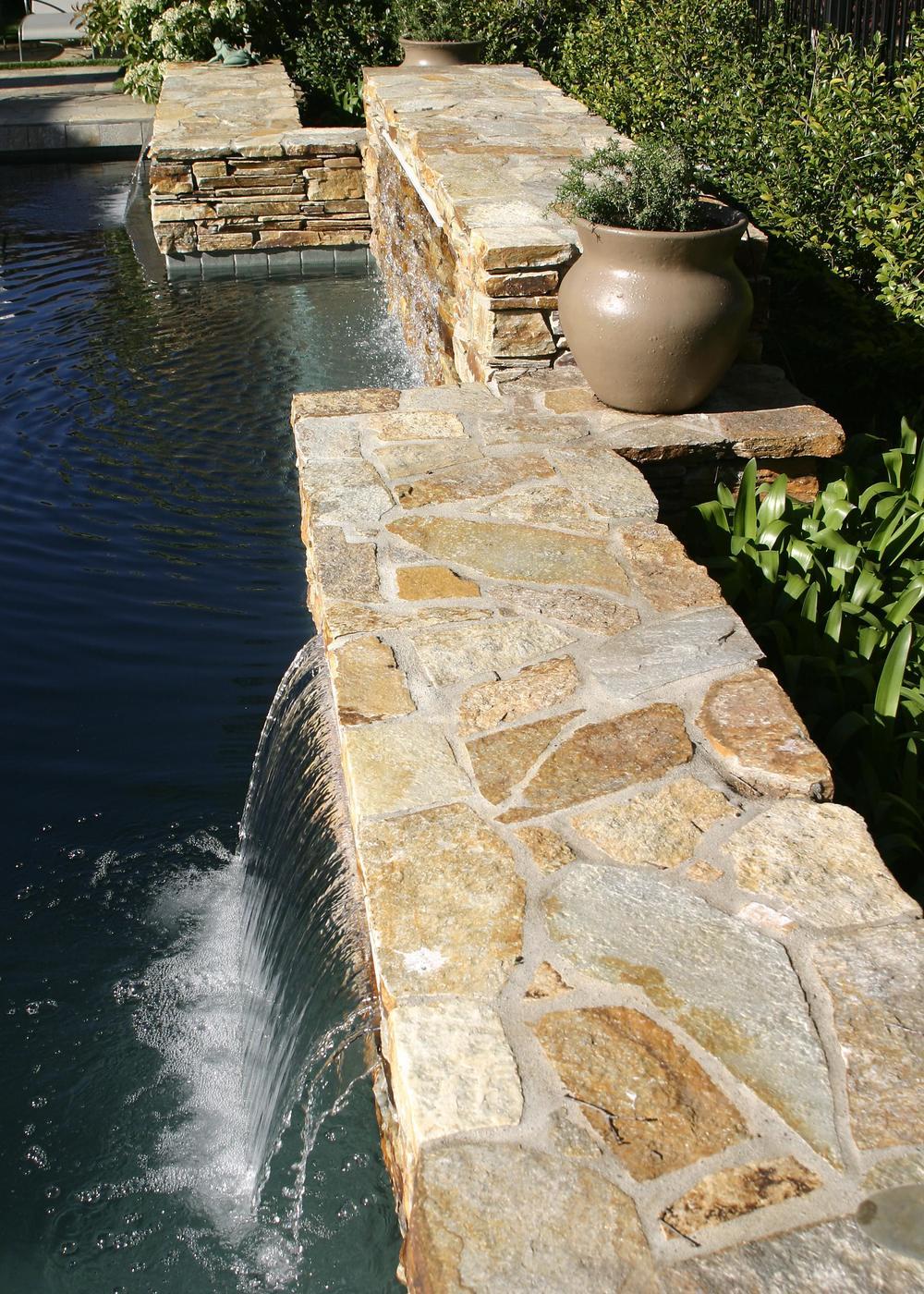 View of pool at rear yard.