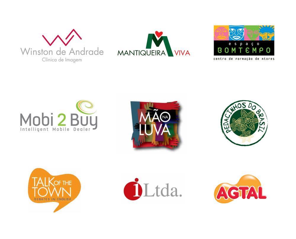 Marcas - várias empresas, diferentes objetivos.