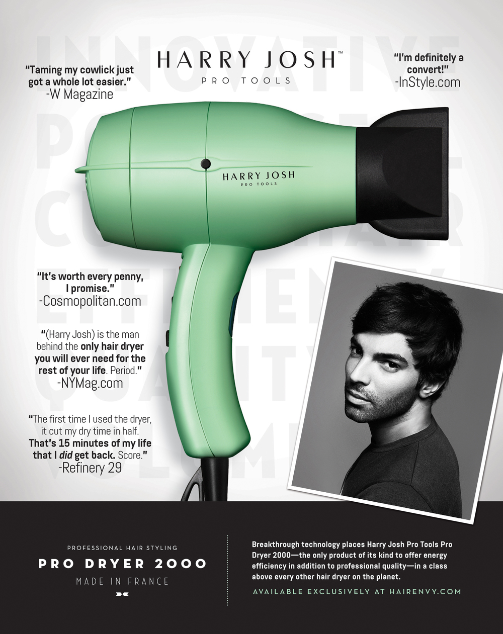 Pro Dryer 2000 advertisment