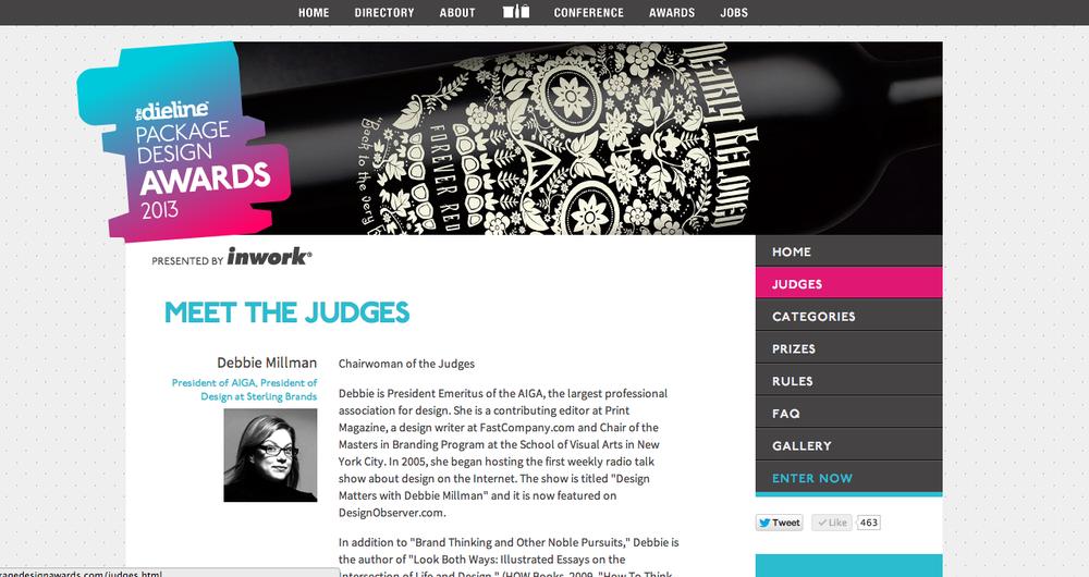 Judges Page
