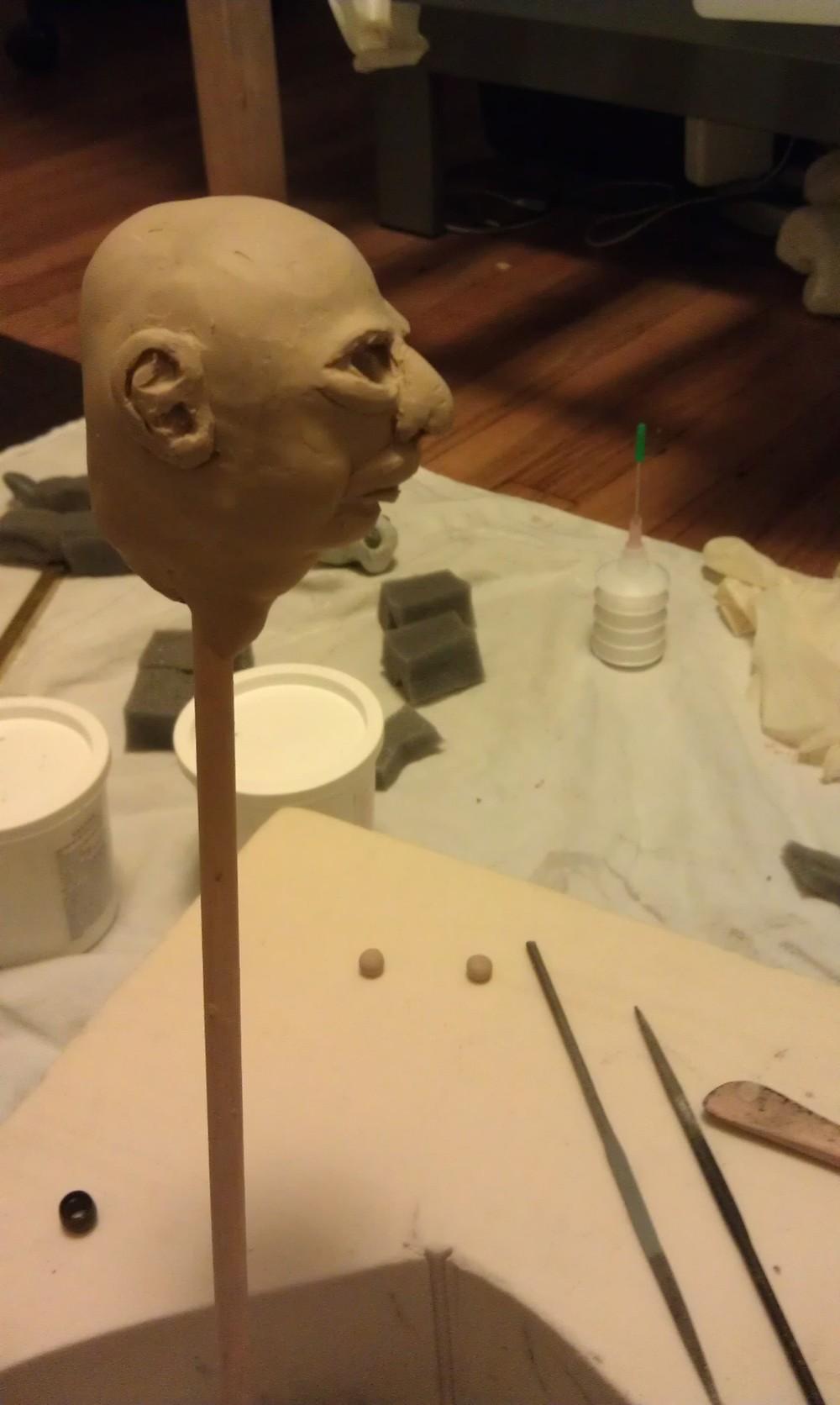 Clay Head Model