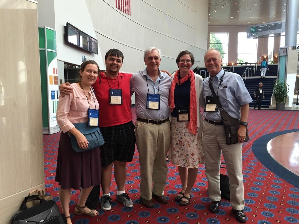 (left to right) Taeler Morgan, Steve Hornyak, Dave Ammons, Kari McFarland & Keith Tanis