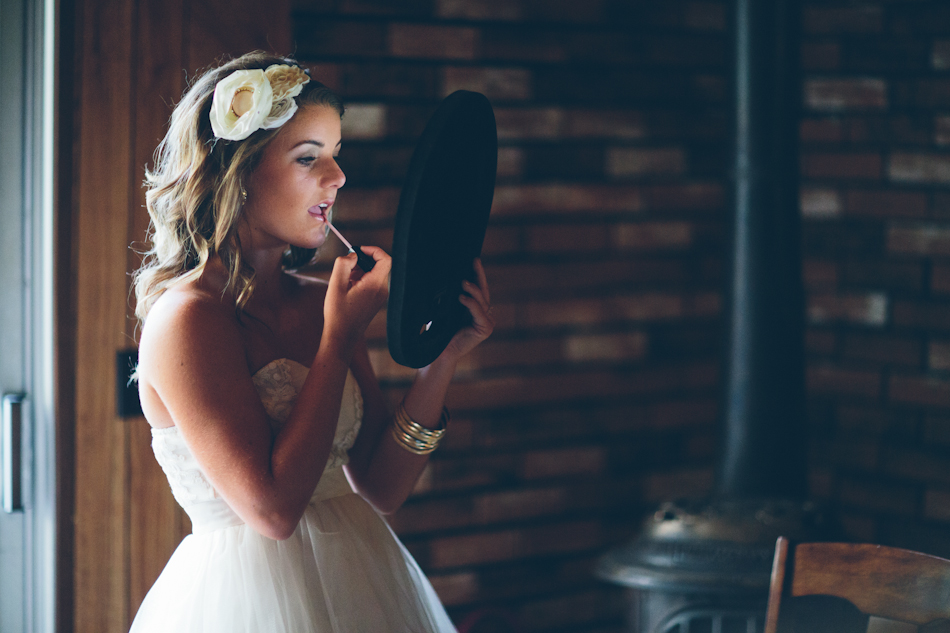 Bridesmaid Primping - Paige Lowe Photography