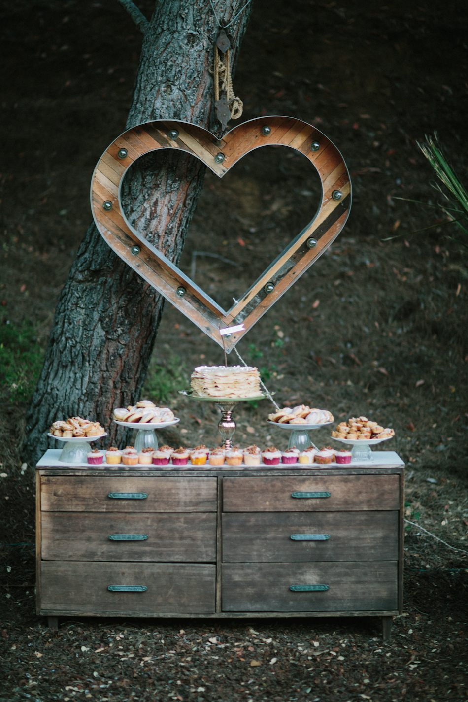 Figgy Dessert Table - Jenny Markham Photography