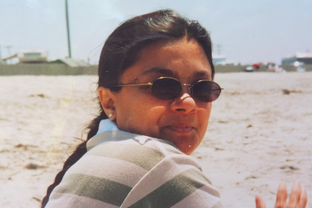 manjira, at the beach, rodos, greece, 2003
