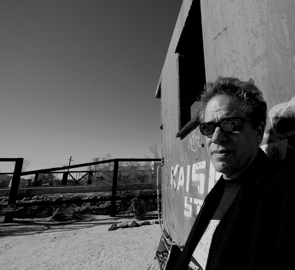 me, in desert center, ca...january, 2015