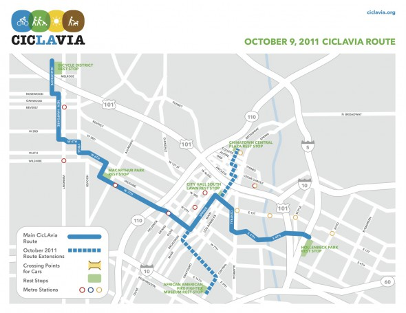 CicLAvia 3 is coming Oct. 9 with an expanded route!